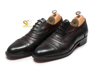 کفش مردانه تمام چرم مدل بولگاری