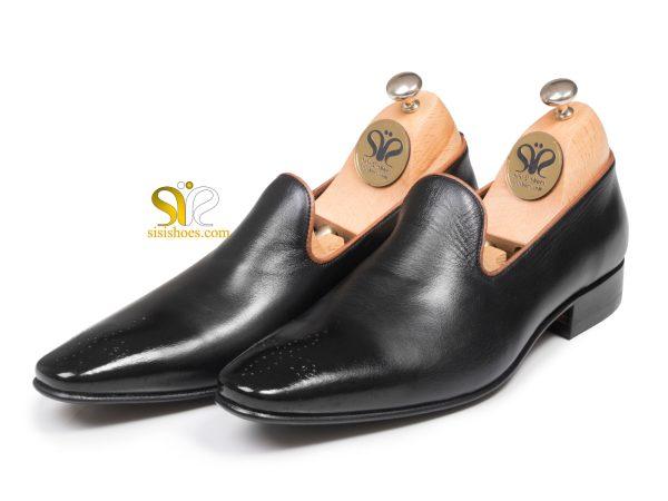 عکس مدل کفش رسمی ساده چرمی