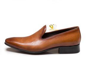 کفش چرم مردانه بی بند مدل لورچ
