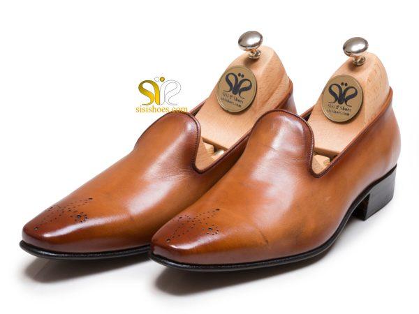 مدل کفش یک تکه چرم مردانه