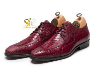 کفش چرم مردانه مدل باراما