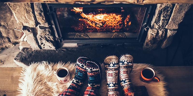 استایل زیبا با جوراب های طرح دار