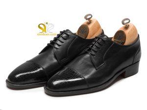 کفش چرم مردانه مدل دالتون
