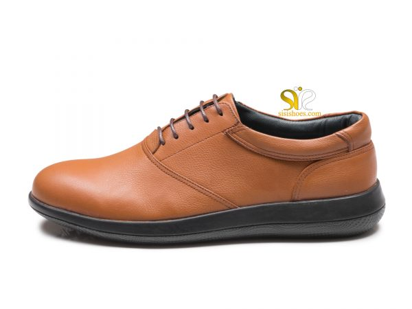 کفش مردانه اسپرت مدل روسی رنگ عسلی