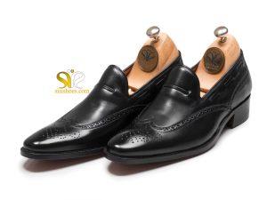 کفش مردانه اشکی پلاس بی بند