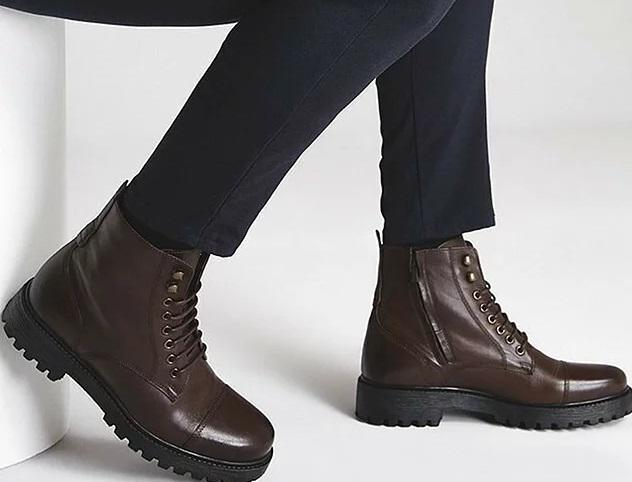کفش های مردانه چرم و محبوب