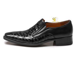 کفش مجلسی مردانه مدل مادرید مشکی