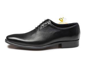 کفش چرم مردانه مدل راینو پلاس مشکی