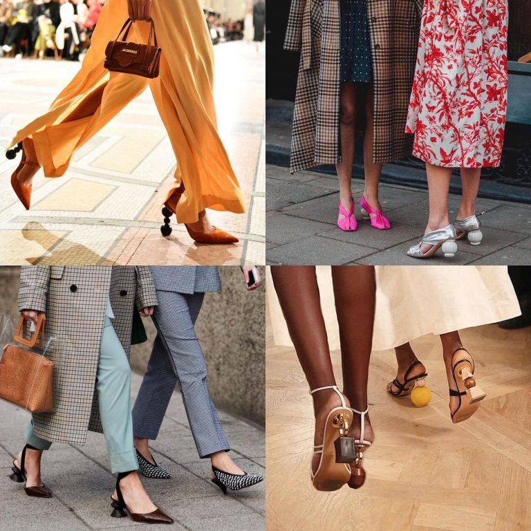 کفش های پاشنه بلند چرمی