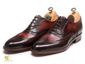 کفش مجلسی چرم مردانه مدل سورن