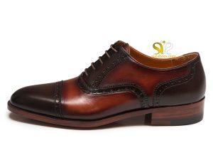 کفش مجلسی چرم مردانه مدل لاروس