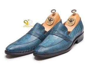 کفش چرم مردانه مدل رادوین