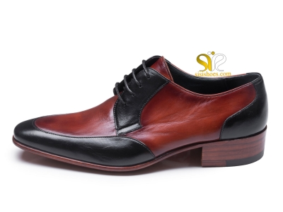 کفش تمام چرم مردانه مدل والنسیا
