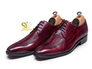 کفش چرم مردانه مدل رابین