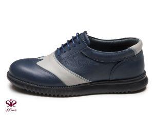 کفش مردانه مدل کاپریس سرمه ای کرم