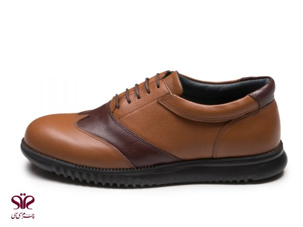 کفش مردانه مدل کاپریس قهوه ای عسلی