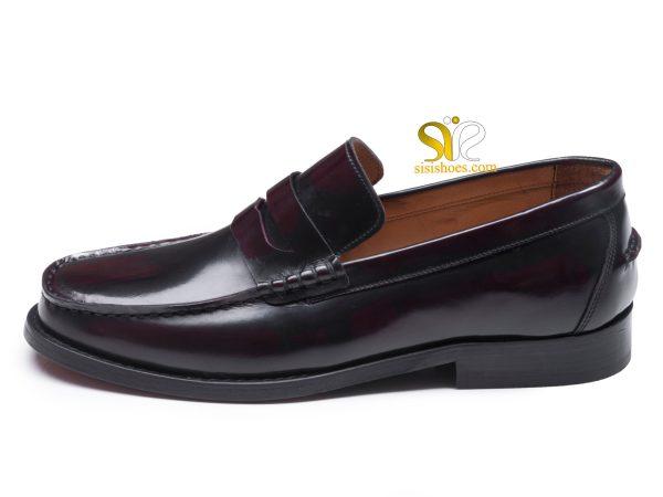 کفش مردانه مدل گوجی پرو دو رنگ لوفر 1