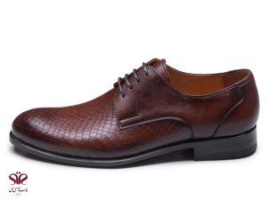 کفش دست دوز چرم سی سی مدل آمستردام