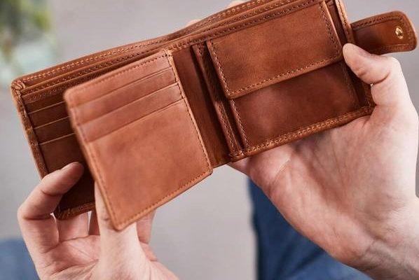 کیف پول های چرمی