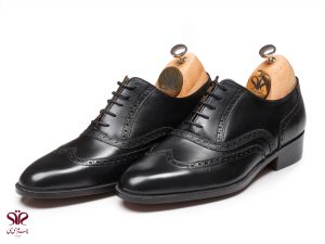 کفش چرم مردانه مدل سورن پلاس