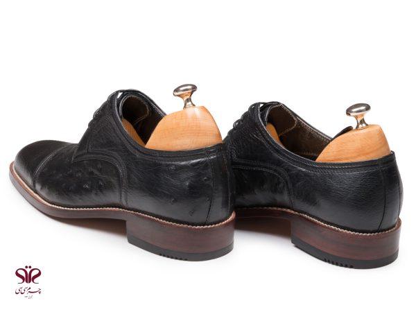 کفش دستدوز شترمرغ