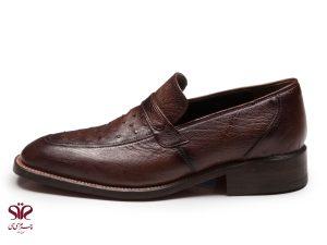 کفش چرم مردانه مدل برلیانس