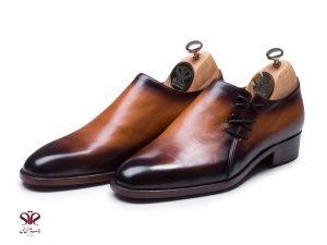 کفش چرم مجلسی مردانه مدل آدریانوس