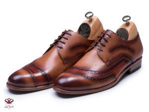 کفش چرم مجلسی مردانه مدل آنتونی