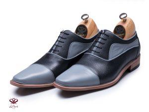 کفش چرم مردانه مدل اسپانیایی