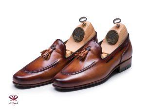کفش کالچ دستدوز مردانه مدل سولار